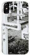 Cochin Cemetery  IPhone Case