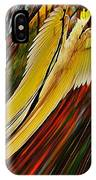 Cockatoo In Abstract IPhone Case