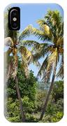 Coconut Palm Trees In Key West IPhone Case