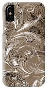 Coffee Flowers 4 IPhone Case