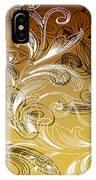 Coffee Flowers 4 Calypso IPhone Case