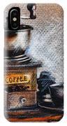 Coffee Grinder IPhone Case
