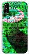 Coffee Lovers Diary 5d24472p108 IPhone Case