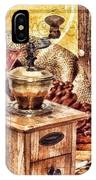 Coffee Mill IPhone Case