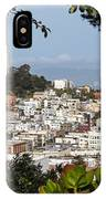 Coit Tower View IPhone Case