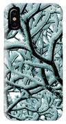 Cold Frosted Limbs Above IPhone Case