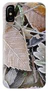 Cold Leaves IPhone Case
