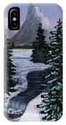 Cold Mountain Brook IPhone Case
