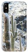 Cold Saguaros IPhone Case