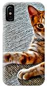 Cole Kitty IPhone Case
