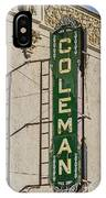 Coleman IPhone Case