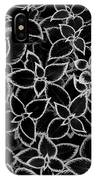 Coleus Foliage Monochrome IPhone Case