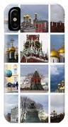 Collage Moscow Kremlin 1 - Featured 3 IPhone Case