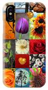 Collage Of Happiness  IPhone Case