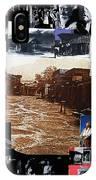 Collage Old Tucson Arizona 1967-1971-2012 IPhone Case