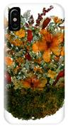 Collage With Wild Flowers IPhone Case