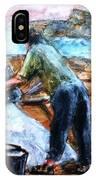 Collecting Salt At Xwejni Gozo IPhone X Case