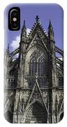 Cologne Cathedral 02 IPhone Case