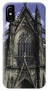 Cologne Cathedral 04 IPhone Case