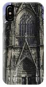 Cologne Cathedral 05 IPhone Case