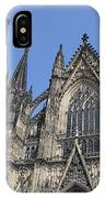 Cologne Cathedral South Side Rooflines IPhone Case