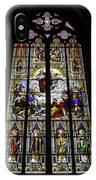 Cologne Cathedral Stained Glass Window Of St Paul IPhone Case