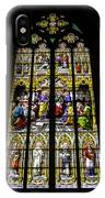 Cologne Cathedral Stained Glass Window Of St Peter IPhone Case