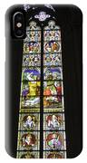 Cologne Cathedral Stained Glass Window Of St. Stephen IPhone Case