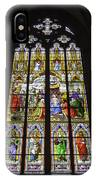 Cologne Cathedral Stained Glass Window Of The Adoration Of The Magi IPhone Case
