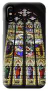 Cologne Cathedral Stained Glass Window Of The Lamentation IPhone Case