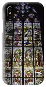 Cologne Cathedral Stained Glass Window Of The Nativity IPhone Case