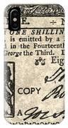 Colonial Bill, 1776 IPhone Case