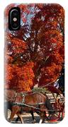 Carriage In Autumn IPhone Case