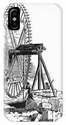 Colonial Wheel-hoist IPhone Case