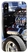 Color Chrome 1932 Black Ford Coupe IPhone Case