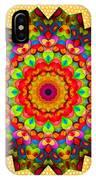 Color Circles Kaleidoscope IPhone Case