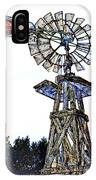 Color Drawing Antique Windmill 3005.05 IPhone Case