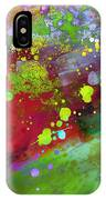 Color Explosion Abstract Art IPhone Case