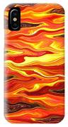 Color Fashion Waves IPhone Case