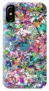 Color Filled Abstract IPhone Case