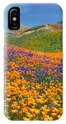 Color Filled Hills IPhone Case