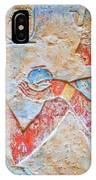 Color Hieroglyph IPhone Case