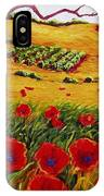 Color In The Vineyards IPhone Case