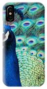 Color Me Peacock IPhone Case