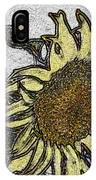 Color Me Sunflower IPhone Case
