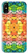 Color Revival - Abstract Art By Sharon Cummings IPhone Case