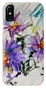 Colorado Asters IPhone Case