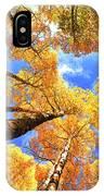 Colorado Autumn Sky IPhone Case