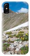Colorado Elkhead Pass IPhone Case