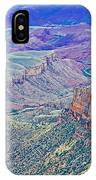 Colorado River From Walhalla Overlook On North Rim Of Grand Canyon-arizona IPhone Case